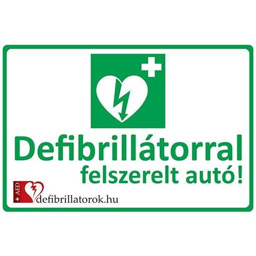 Defibrillátor jelző autómatrica