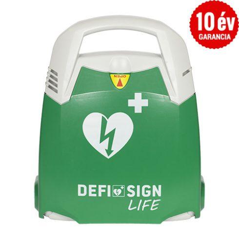 DefiSign LIFE félautomata defibrillátor 10 év garanciával