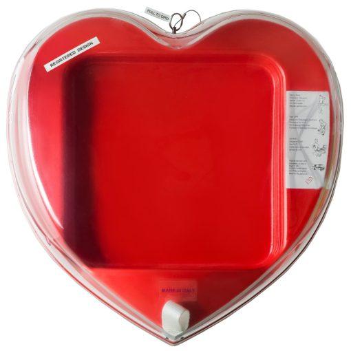 Univerzális szív alakú defibrillátor tároló