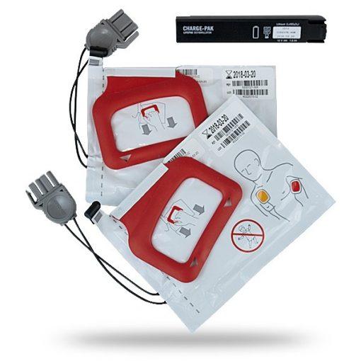 Lifepak CR Plus CHARGE-PAK 2 db elektródával
