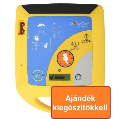 SaverOne PAD max200J félautomata defibrillátor