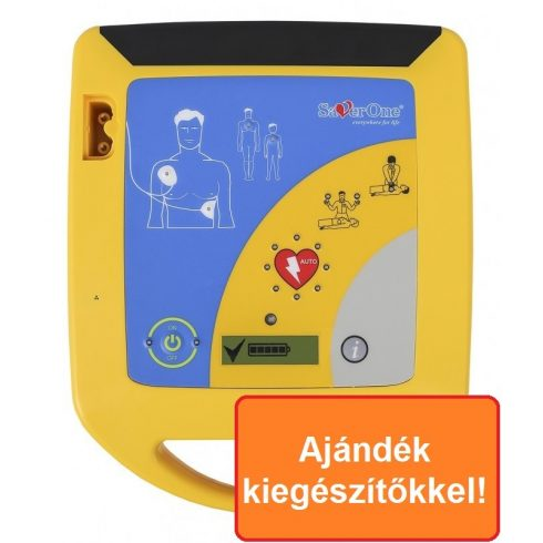 SaverOne PAD max200J automata defibrillátor