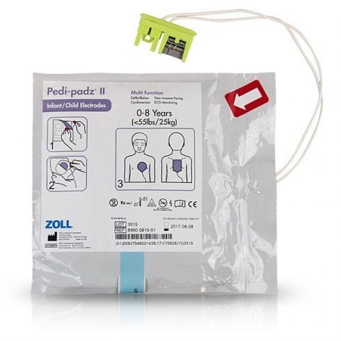 Zoll AED Plus Pedi-Padz II. gyermek elektróda