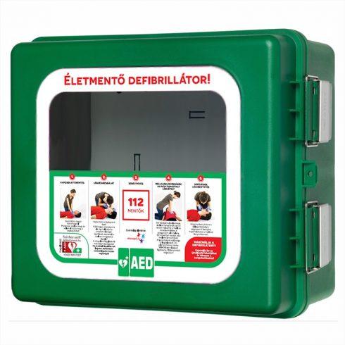 Arky 100 %-ig por és viz álló AED szekrény.  (nem fűtött)